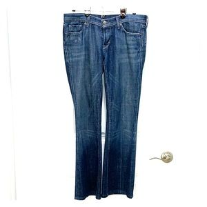 Citizens of Humanity Ingrid low waist flare sz 30